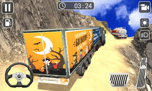 Truck Driver Simulator 2019 - Hill Truck Climb  captures d'écran 1