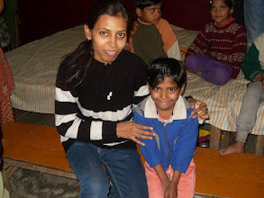 Photo: Spending time with not-so-lucky at Manisha Mandir, 2009