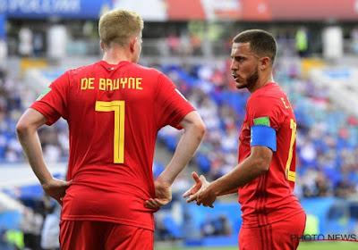 Eden Hazard, Kevin De Bruyne et Adnan Januzaj: un Turinois fan des Diables Rouges
