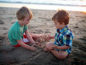 Photo: Finn & Cousin Hudson