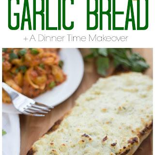 5 Minute Cheesy Garlic Bread