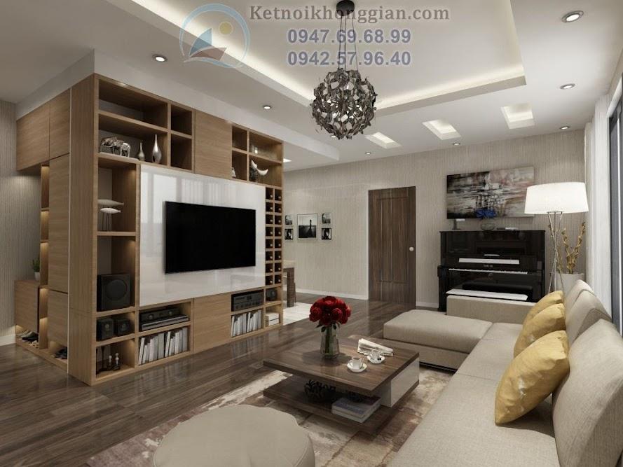 thiết kế phòng khách, thiết kế căn hộ chung cư sang trọng