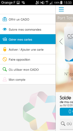 www.cadostore.com activer ma carte CADO Store – Applications sur Google Play