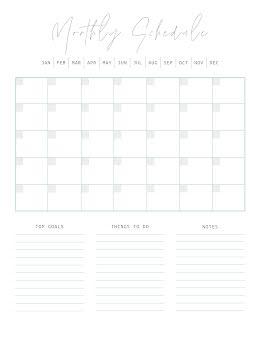 Scripty Schedule - Planner item