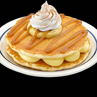 Eggnog Pancake.