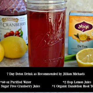 7 Day Detox Drink.