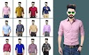 screenshot of Man Formal Shirt Photo Suit Maker