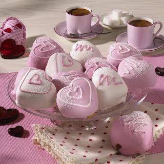 Cherry Heart Cakes.