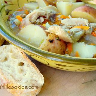 Lemon Thyme Chicken Stew