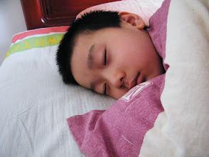 Photo: emakingir's works: baby son, warrenzh, owner of warozhu.com and wozon.net, in sleep in dawn.