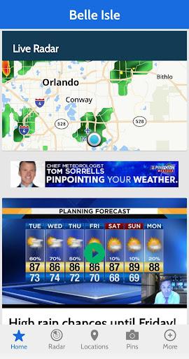 News 6 Pinpoint Weather screenshot 2