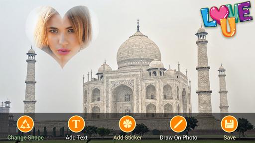 Taj Mahal Frames Collages