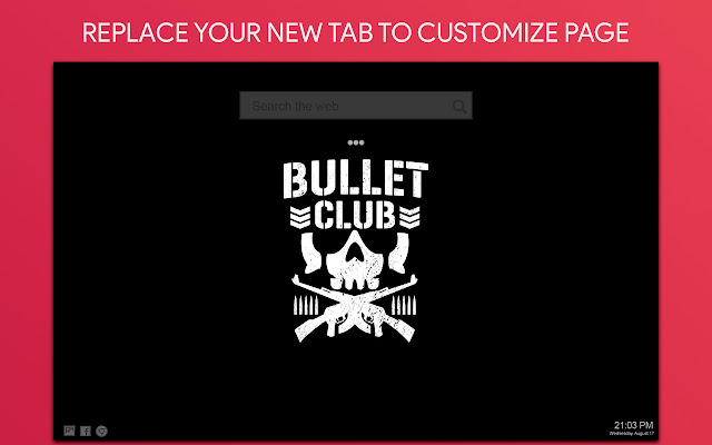 Bullet Wallpaper HD Custom New Tab