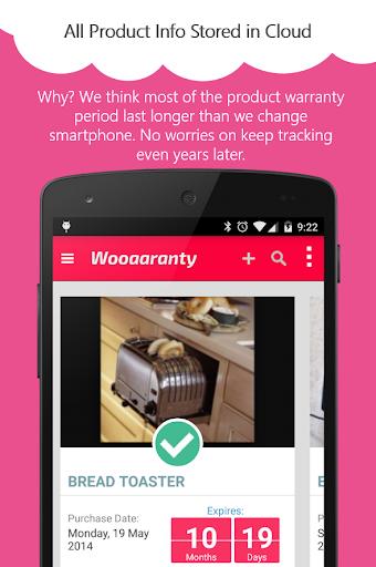 Wooaaranty Warranty Tracker