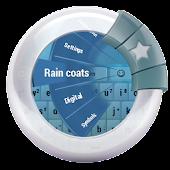 Rain coats GO Keyboard