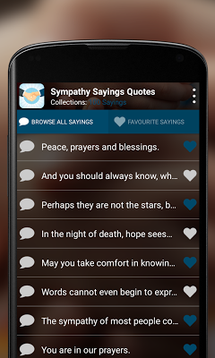 Sympathy Quotes - screenshot