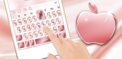 Rose Gold Keyboard For Phone 8 for PC