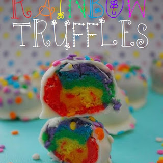 Rainbow Truffles Recipe