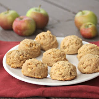 Apple Peanut Butter Cookies.