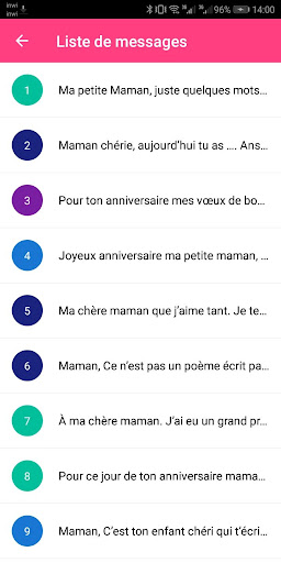 SMS Anniversaire 2020 4.0 screenshots 4