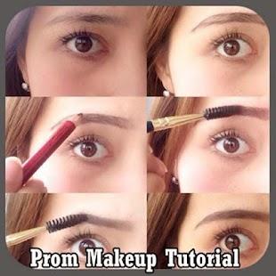 Prom makeup výuka - náhled