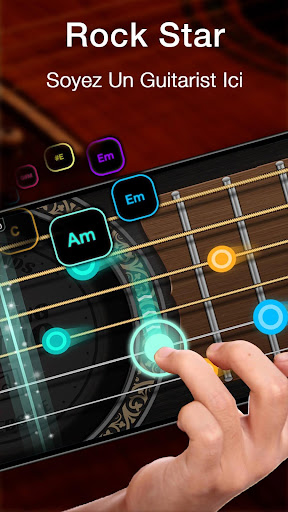 Real Guitare Gratuite - Jeu de Rythme & Accords  captures d'écran 1