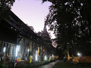 Photo: Historic temple at Chiang Saen