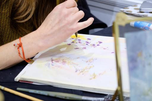 stages cours aquarelles fontainebleau_ Jeanne PAPA