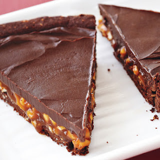 Chocolate, Caramel and Cashew Torte