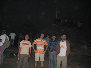 Photo: Finally reached the top n waiting for sunrise...