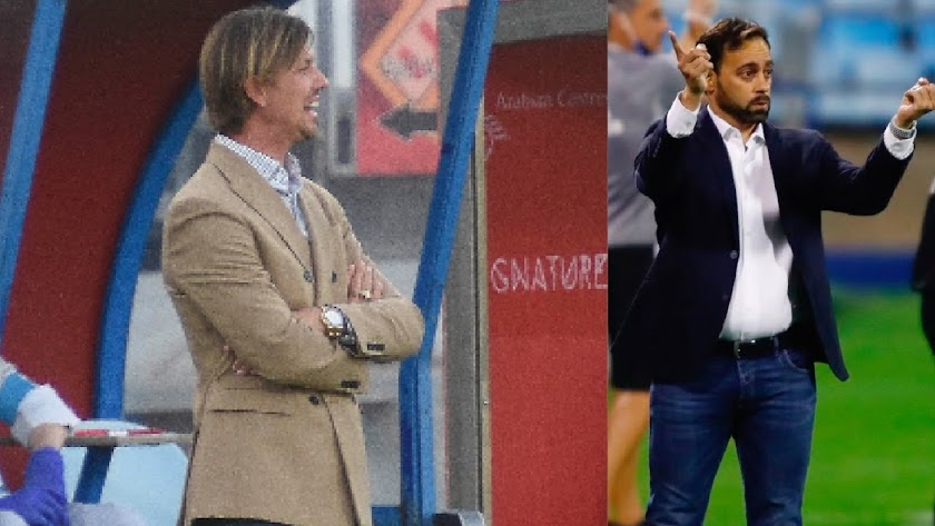 Guti y Fran centran las miradas del Almería-Alcorcón.