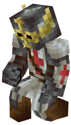 This brave crusader fought many battles and won many battles. This is the true ruler of all crusaders.