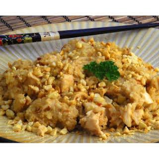 Thai Peanut Chicken.