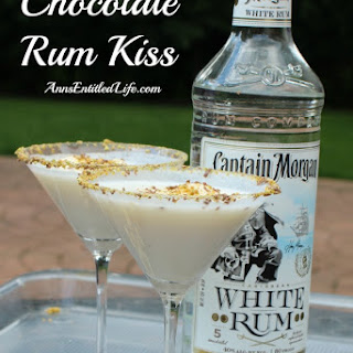 Chocolate Rum Kiss Cocktail.