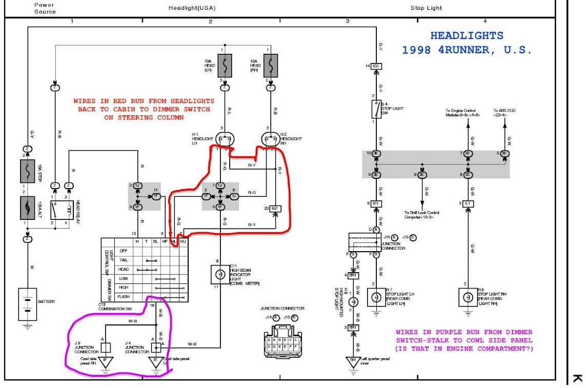 80 Series Spotlight Wiring Diagram