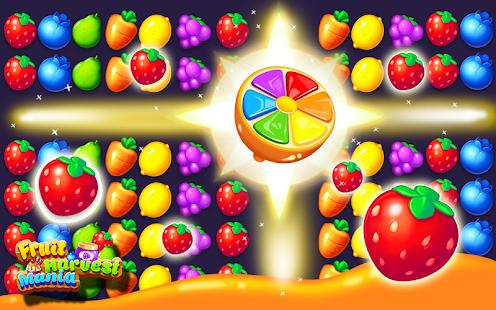 Fruit Harvest Funny Match 3 - náhled