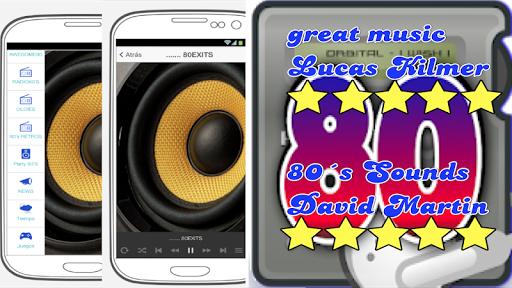 music of the 80´s. music and radio stations 80´s. screenshot 1