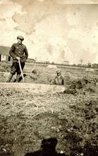 Photo: Rok 1941.Władysław Bienias na robotachw Niemczech.