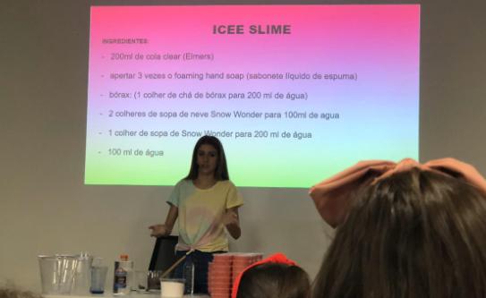 Curso de Icee Slime da Sofia Furlani
