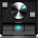 Retro Black skin for Poweramp V3 icon