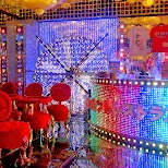 entrance lounge at the Robot Restaurant in Kabukicho in Kabukicho, Tokyo, Japan