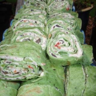 Veggie Cream Cheese Roll-Ups