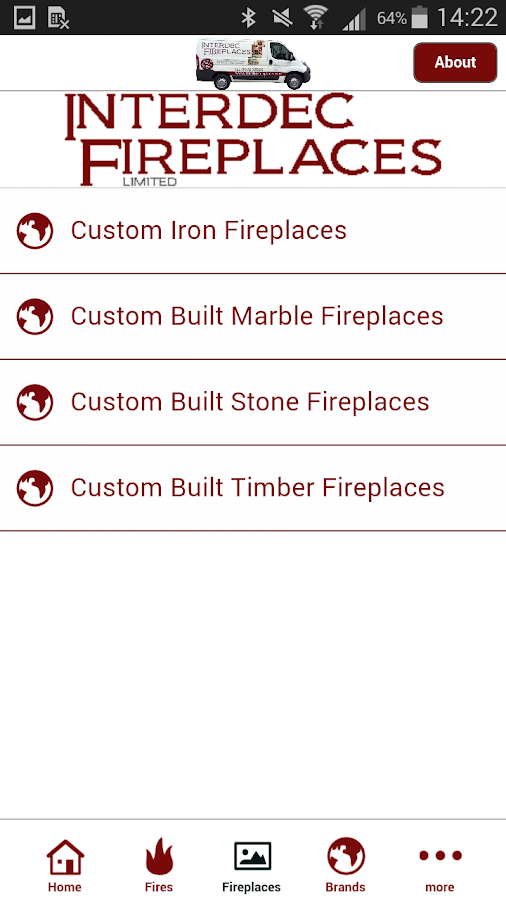 Interdec Fireplaces Ltd- screenshot