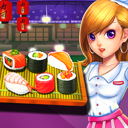 Sushi restaurant-cooking game free restaurant game