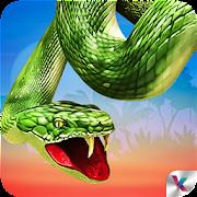 Wild Anaconda Snake Attack 3D