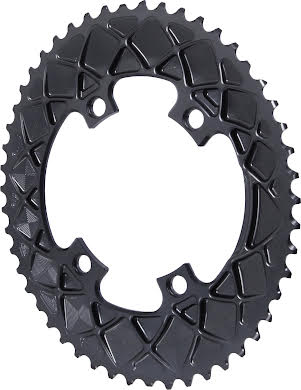 Absolute Black Premium Oval Road Outer Chainring, 4x110BCD alternate image 0