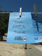Photo: Mensaje desde la Plaza Dos de Mayo.
