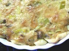 Vegetarian Leek Pie