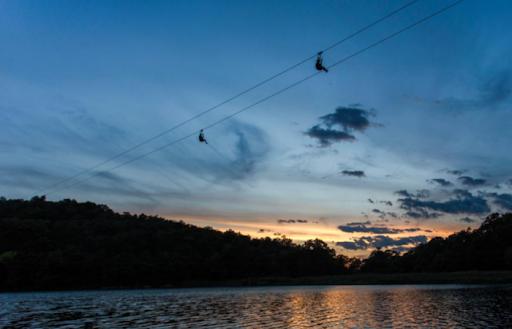Take A Ride On The Longest Zipline In New Jersey At Mountain Creek