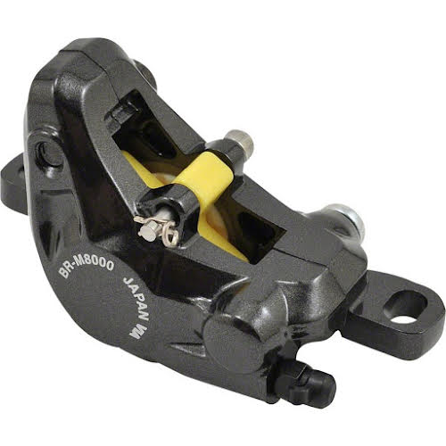 Shimano XT BR-M8000 Disc Brake Caliper with Resin Pads, Front or Rear